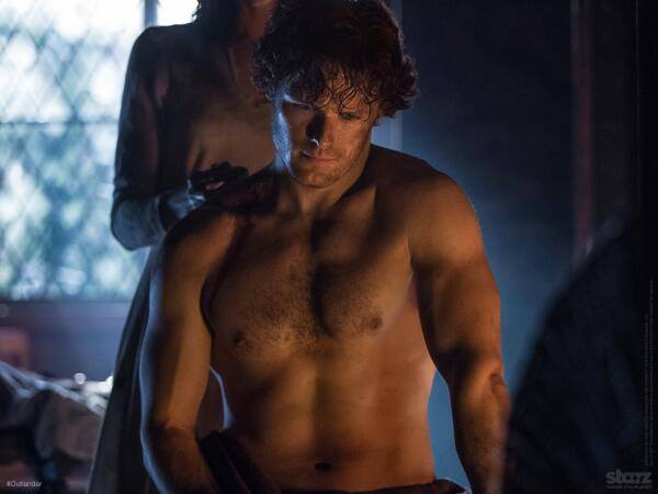 Jamie no shirt